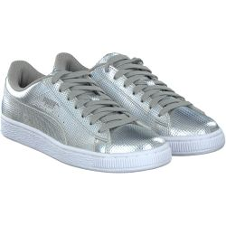 Puma - Basket Classic Holo. in Silber