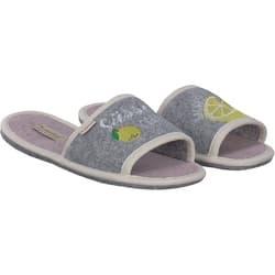 Adelheid Damen Schön Wild Filzpantoffel Pantoffeln Schuhe