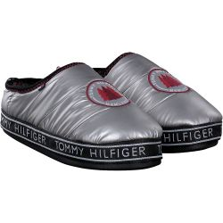 Hilfiger - DOWNSLIPPER PATCH in Silber