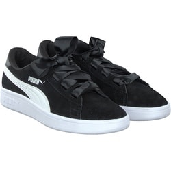 Puma - Smash v2 Ribbon in Schwarz