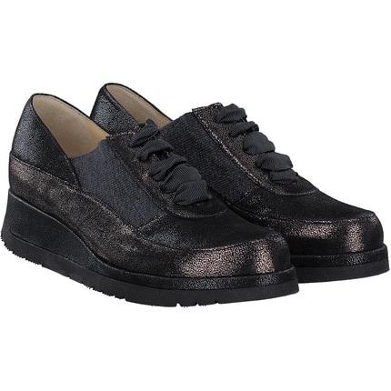 Brunate - Schnürschuh in schwarz