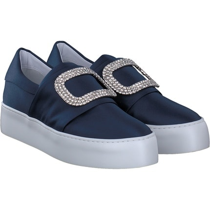 Trumans - Slip On in blau