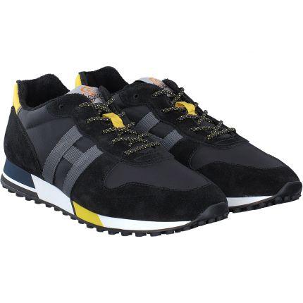 Hogan - Retro Running in schwarz