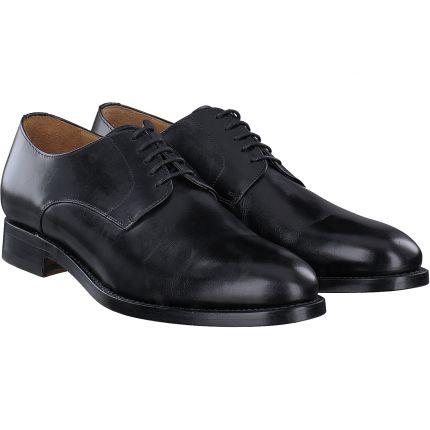 +++ - Schnürschuhe in schwarz