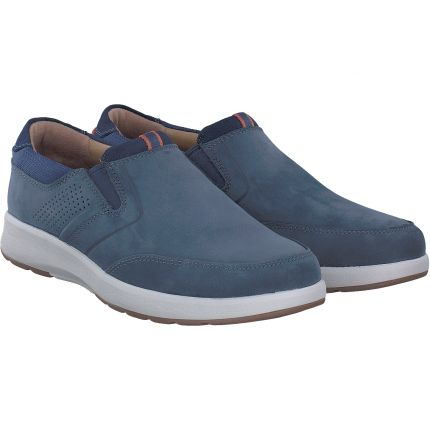 Clarks - Un Trail Step in blau
