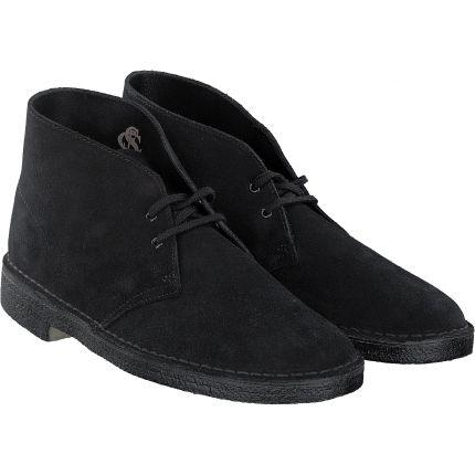 Clarks - Desert Boot in schwarz