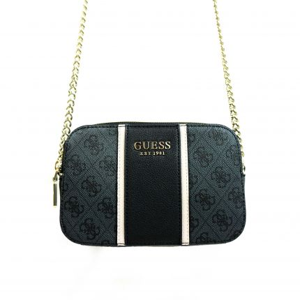 Guess - Cathleen Camera Bag in schwarz