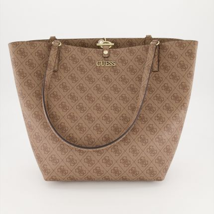 Guess - Alby Toggle Tote in beige