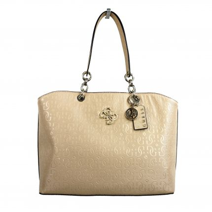 Guess - Chic Shine Tote in rosa