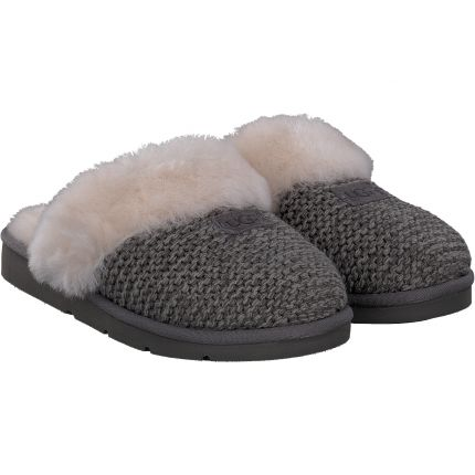 UGG - Cozy Knit Slipper in grau