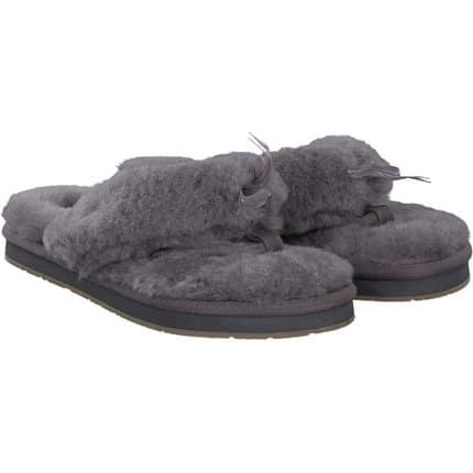 6134d2f0a911 Startseite · Damen · Schuhe · Hausschuhe. Ugg - Fluff Flip Flop in grau
