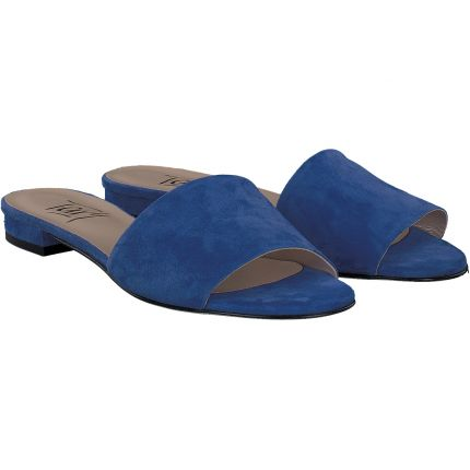 Terry - Pantolette in blau