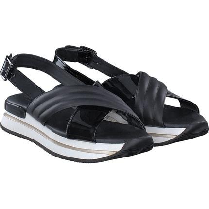 Hogan - Sandale in schwarz