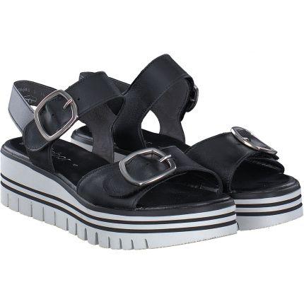 Gabor - Sandale in schwarz