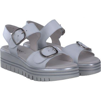 Gabor - Sandale in weiß