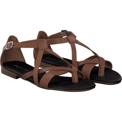 Zahira - Sandale in braun
