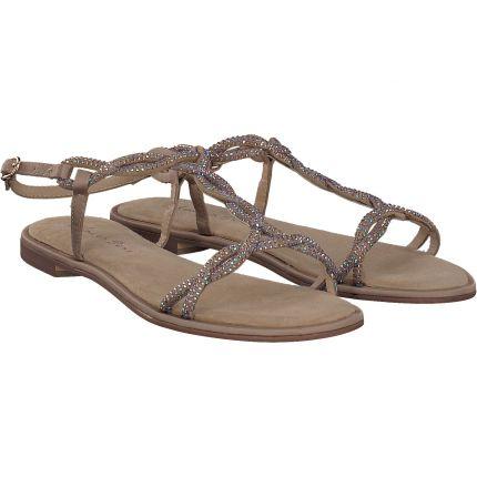 Alma en Pena - Sandale in beige