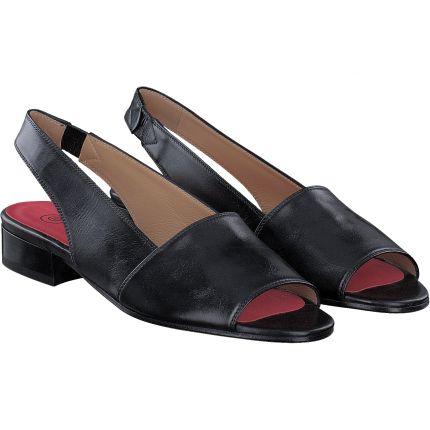 Pas de Rouge - Sandale in schwarz