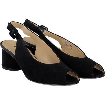 Brunate - Sandale in schwarz