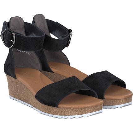 Paul Green - Sandale in schwarz