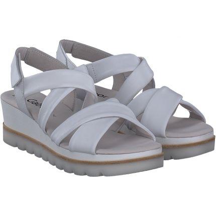 Gabor - Sandalen in weiß