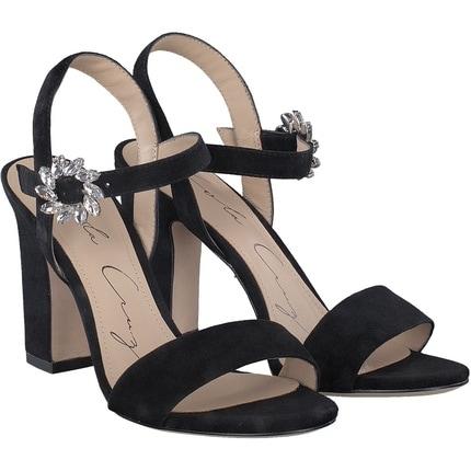 Lola Cruz - Sandale in schwarz