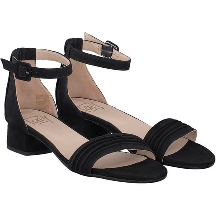 Terry - Sandale in schwarz