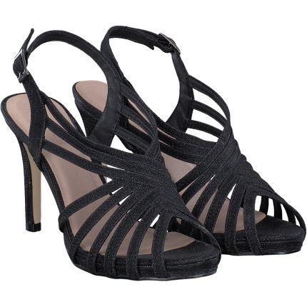 Menbur - Sandale in schwarz