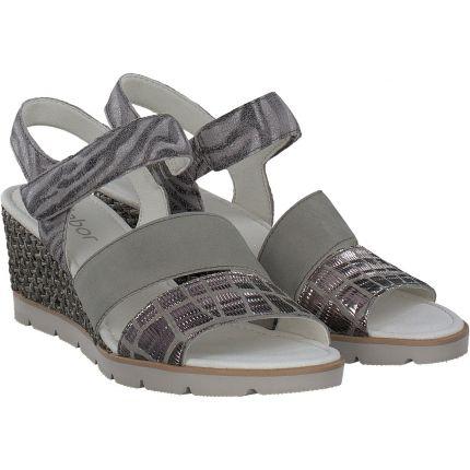 Gabor - Sandalen in gemustert