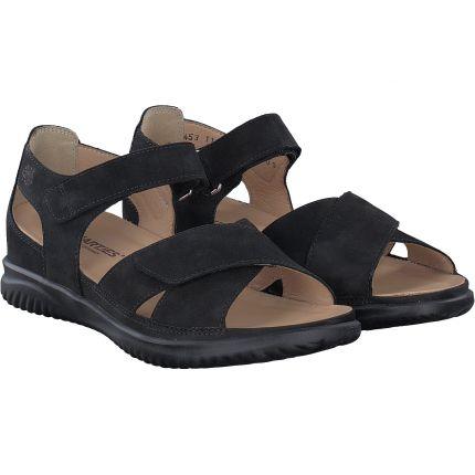 Hartjes - Sandale in schwarz