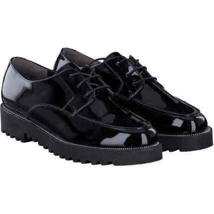Paul Green - Schnürschuh in schwarz