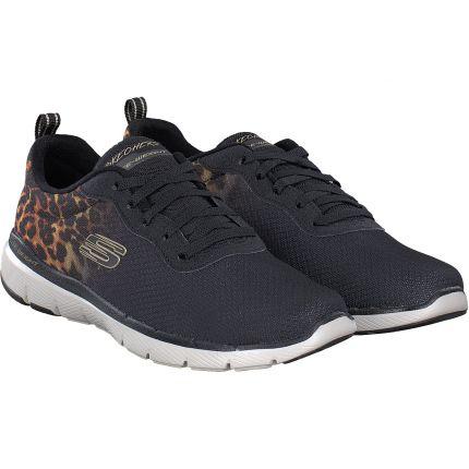 Skechers - Sneaker in schwarz