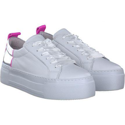Zahira - Sneaker in Weiss/silber