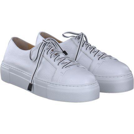 Trumans - Schnürschuh in weiß