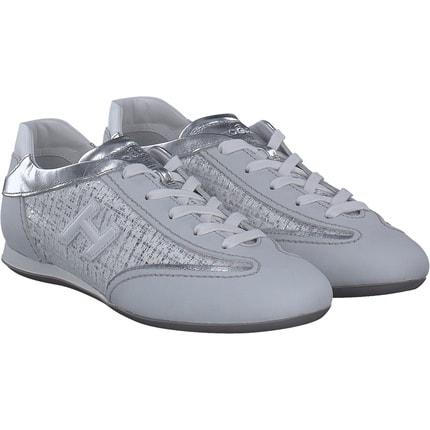 Hogan - Sneaker in Weiss/silber