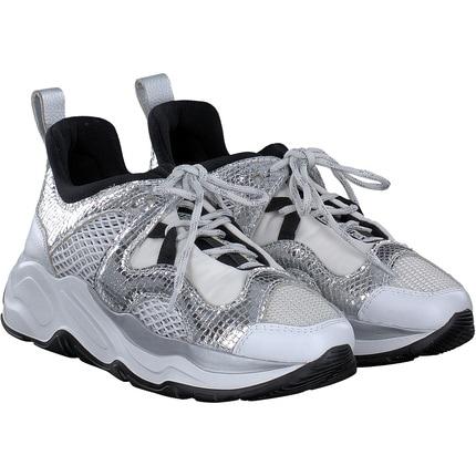 Fabi - Sneaker in Weiss/silber