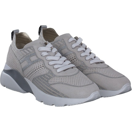Hogan - Sneaker in beige/silber