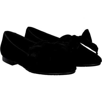 Terry - Slipper in schwarz