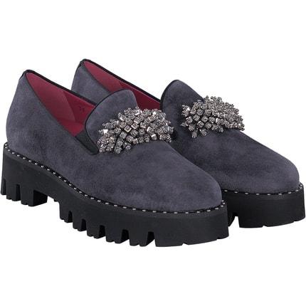 181 - Loafer in grau