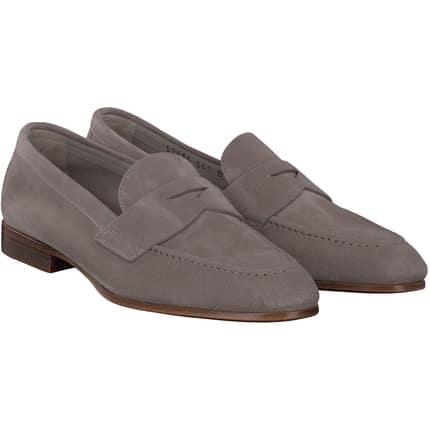 Santoni - Pantofola+Penny in grau