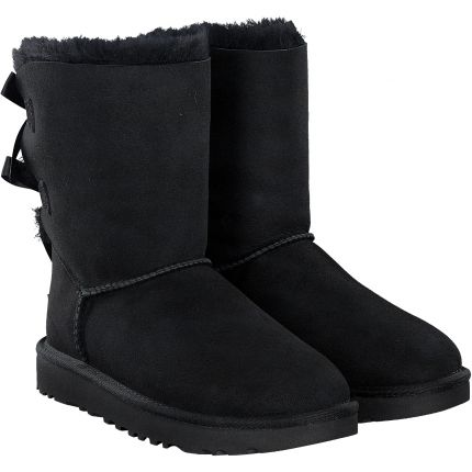 UGG - Bailey Bow in schwarz