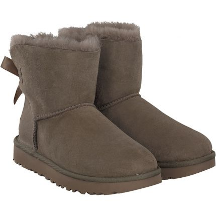 Ugg - Mini Bailey Bow in khaki