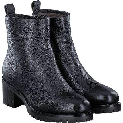 Santoni - Stiefelette in schwarz