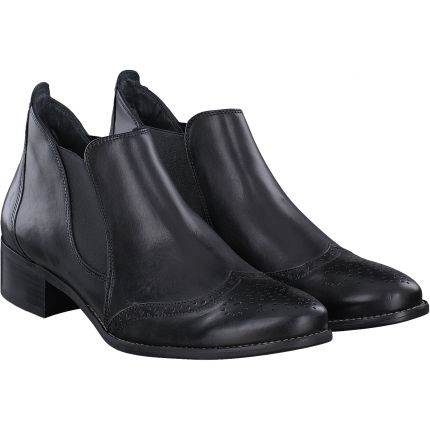 Paul Green - Stiefelette in schwarz