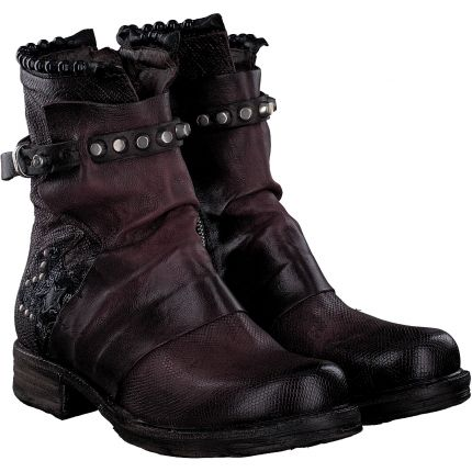 A.S.98 - Stiefelette in rot