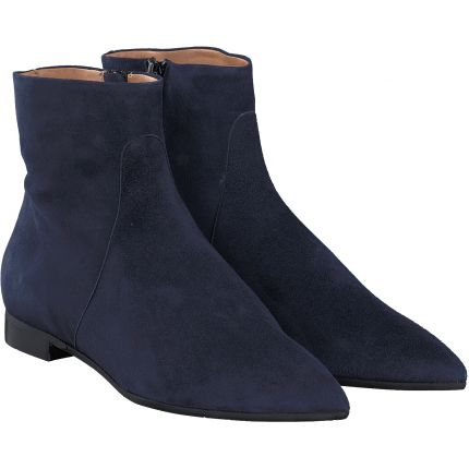 Terry - Stiefelette in blau