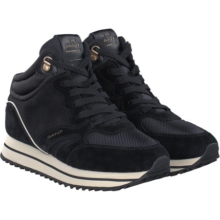 Gant - Bevinda Mid lace Boot in schwarz