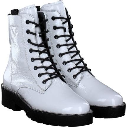 Paul Green - Schnürstiefel in weiß
