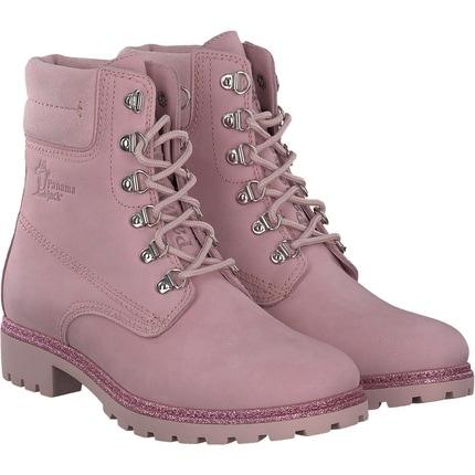 Panama Jack - Schnürstiefelette in rosa