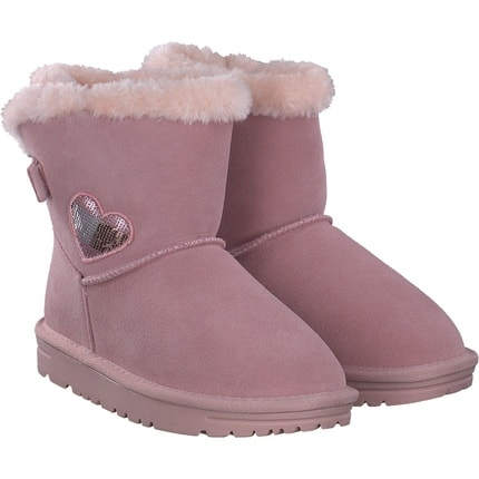 Tommy Hilfiger - Fur Boot in pink